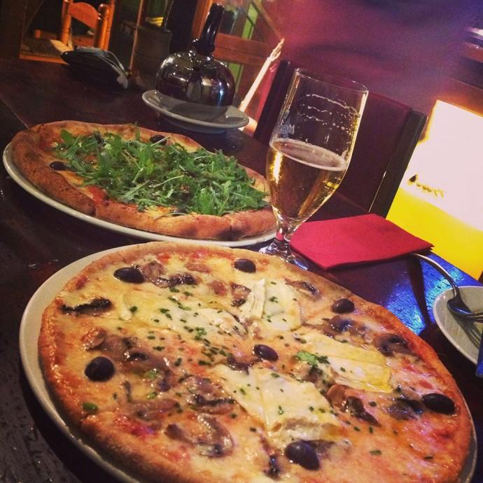 Pizza at La Cereria Barcelona