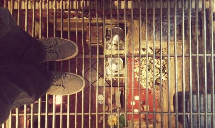 Steves feet