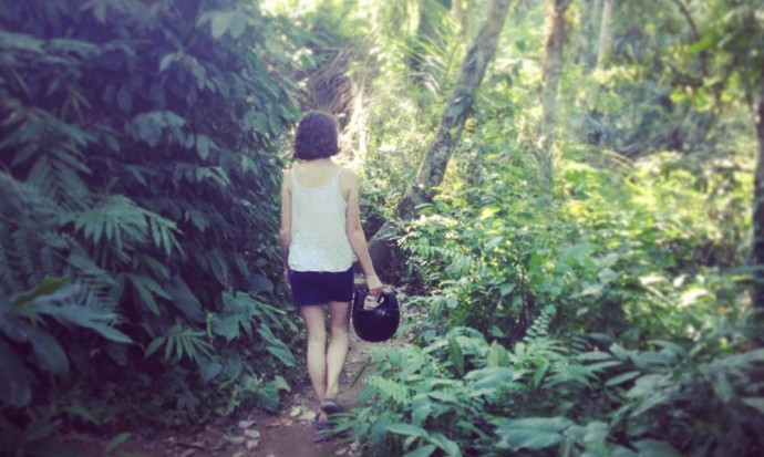 Walking in the Ubud woods