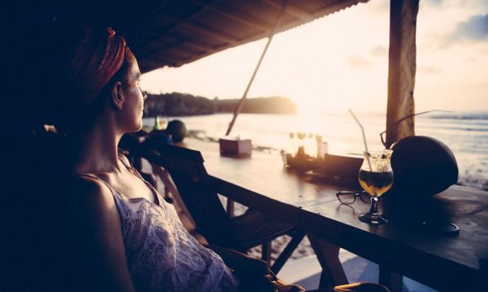 Cocktail on Balangan beach
