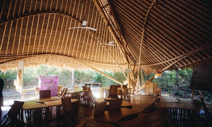 Classroom at Green school