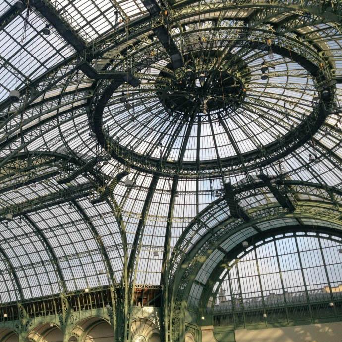 Roog of royal palace, Paris