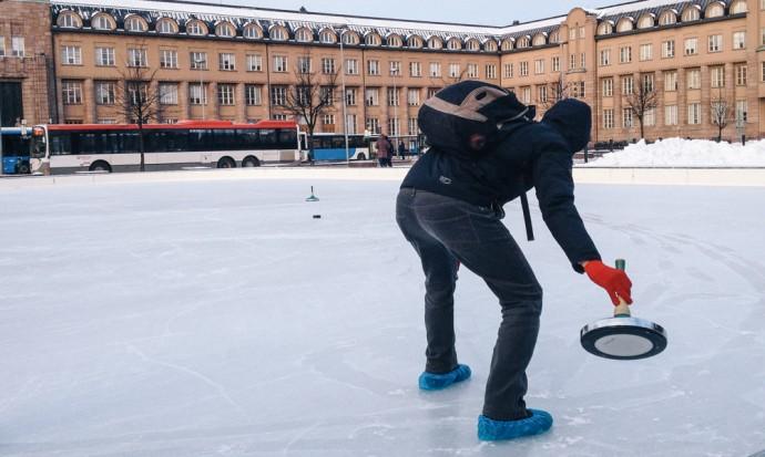 Curling in Helsinki