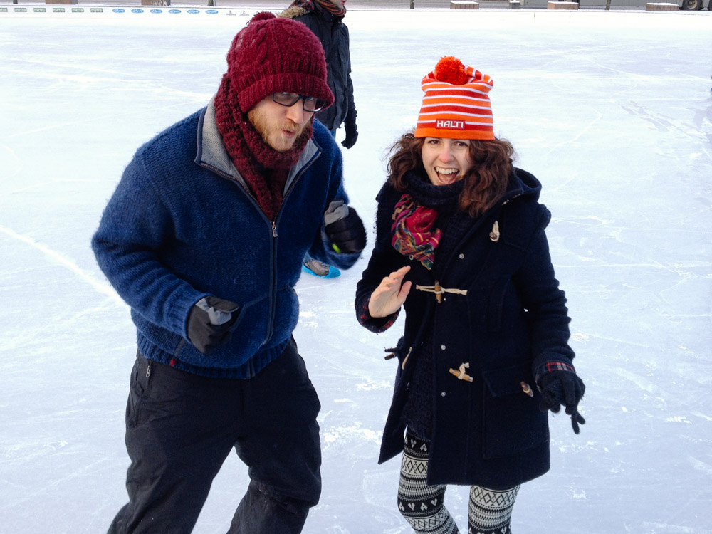 Victoria and Steve Helsinki