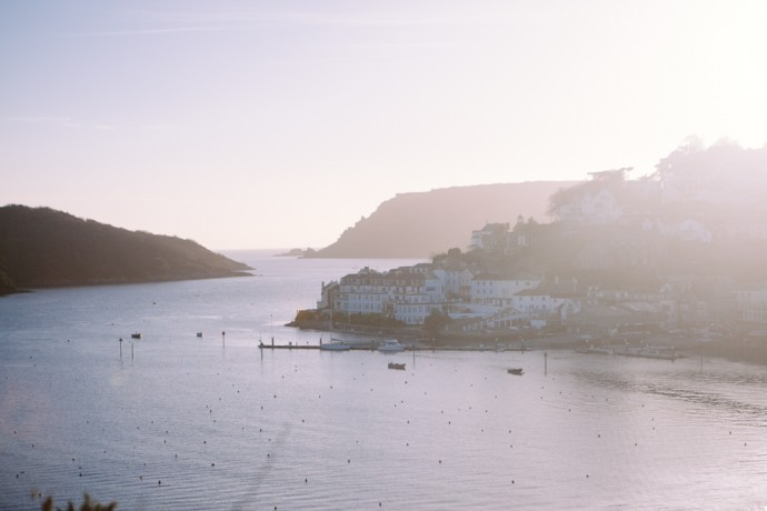View of Salcombe from Snape's point