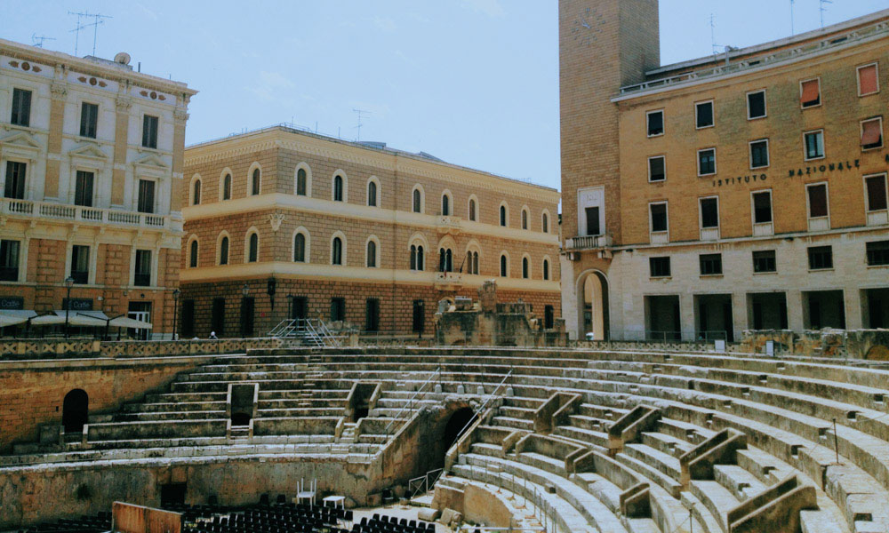 Things to do in Puglia: Visit the Ampitheatre in Lecce