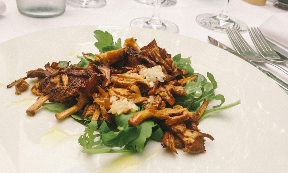 Vegetarian food in Ljubljana