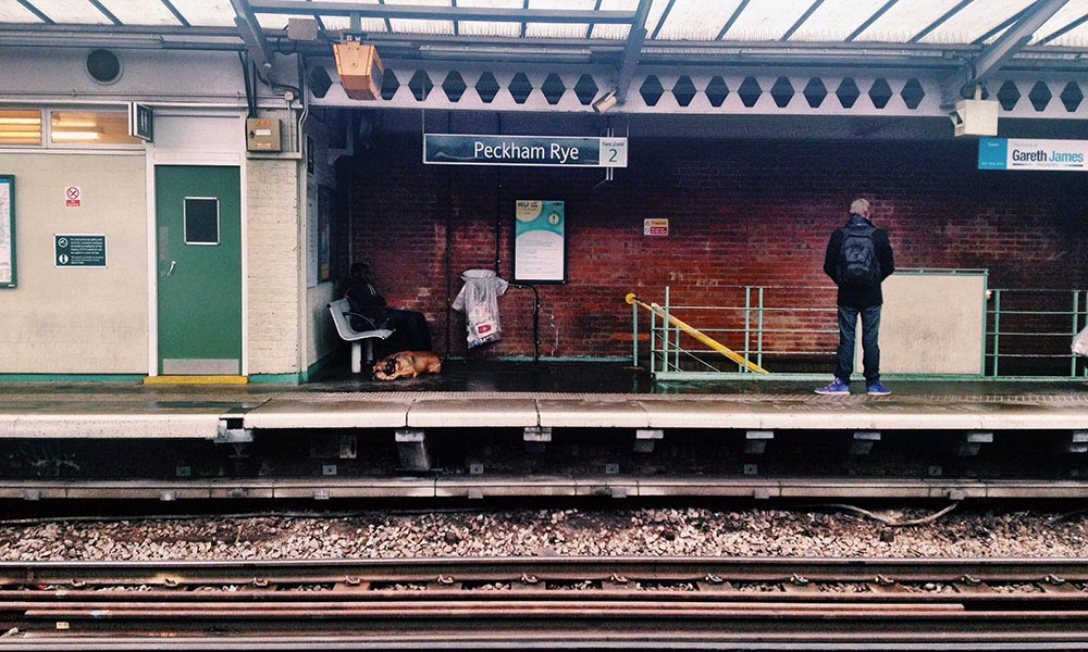 Peckham Rye Station, London