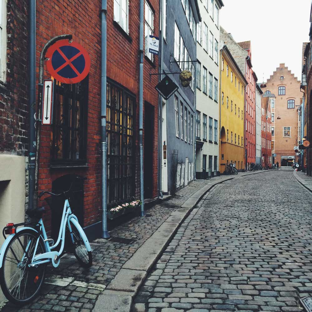 Hogsemeade street in Copenhagen