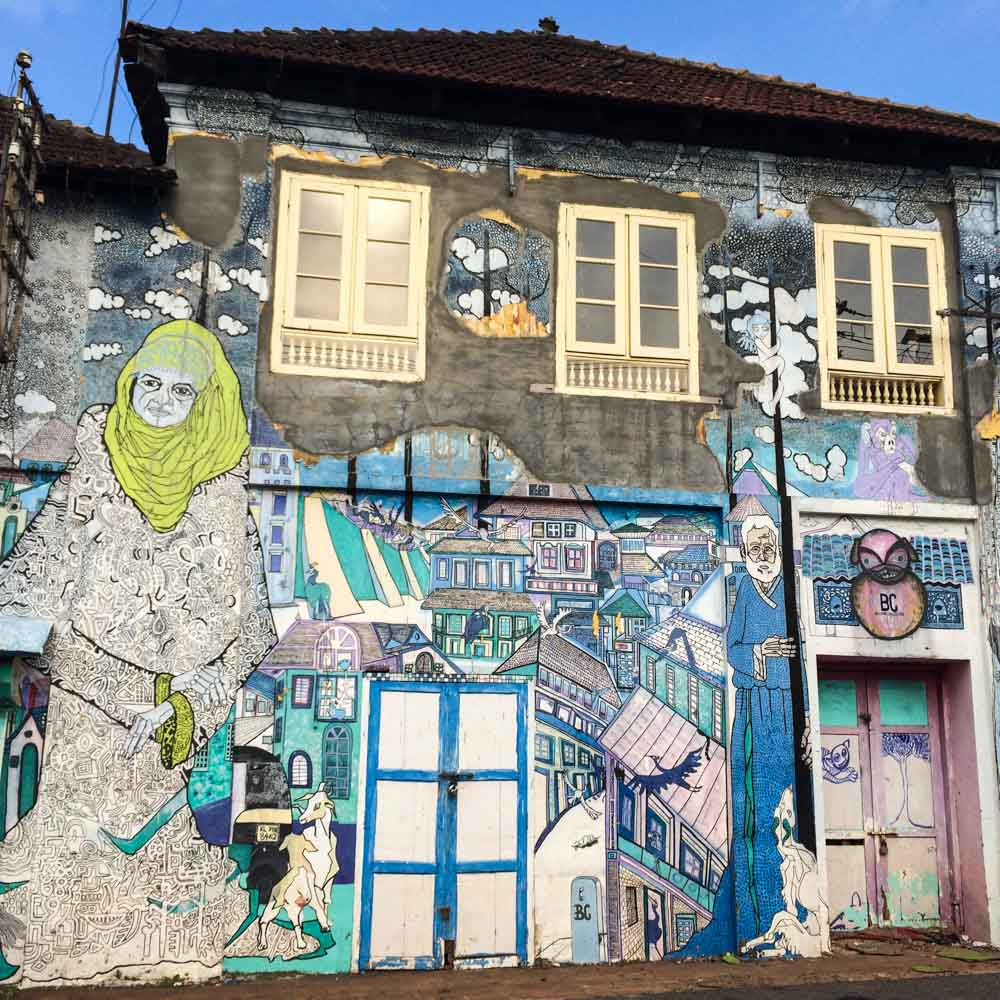 Kochi street art is a Kerala highlight