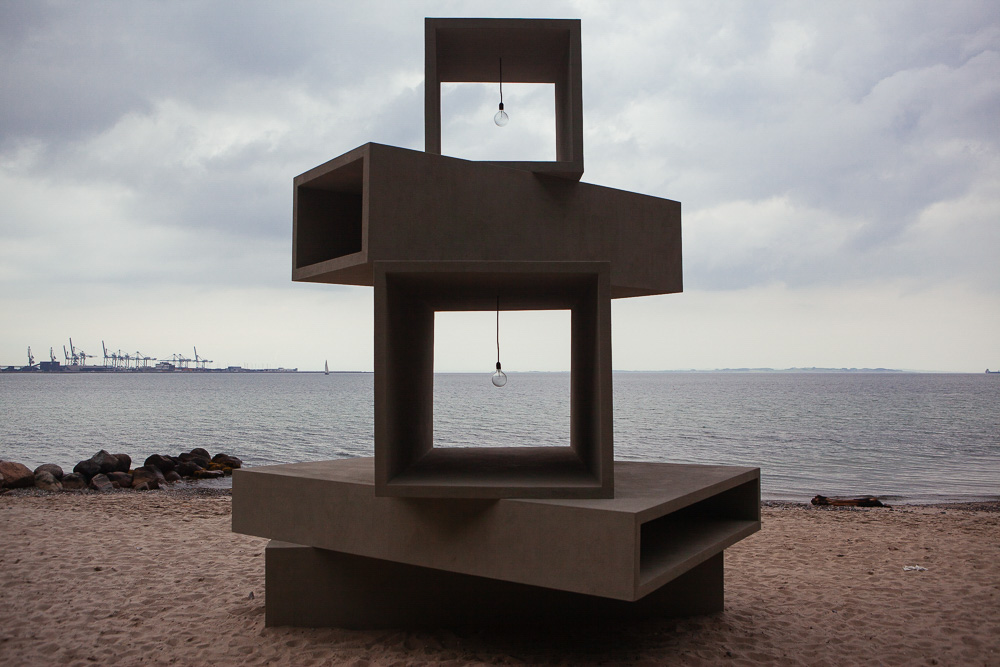 Thomas Lindvig, UNTITLED, Sculpture by the sea, Aarhus