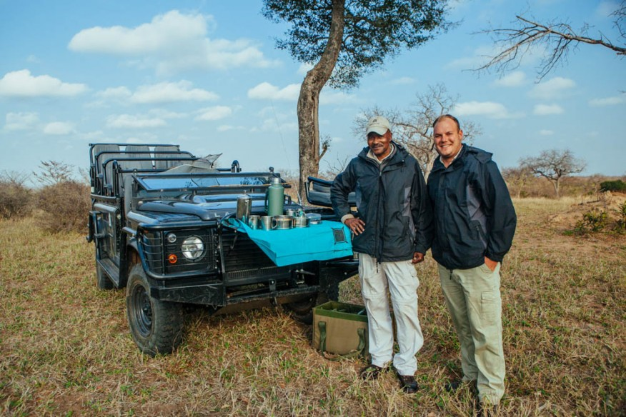 Brad and Rondy, Makanyi Safari Lodge, South Africa