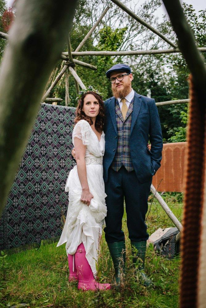 Tweed Addict wedding suit