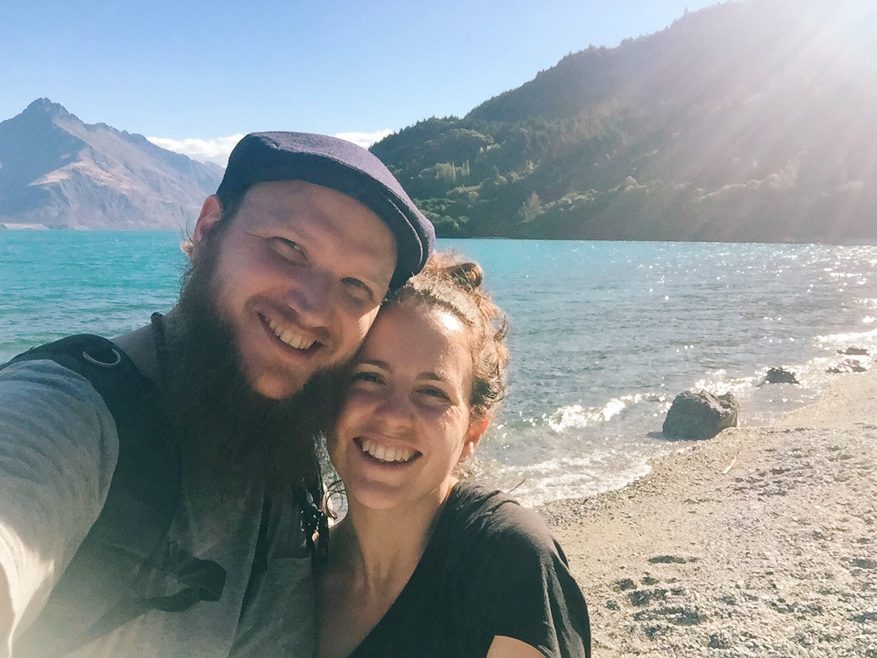 Victoria and Steve in Queenstown