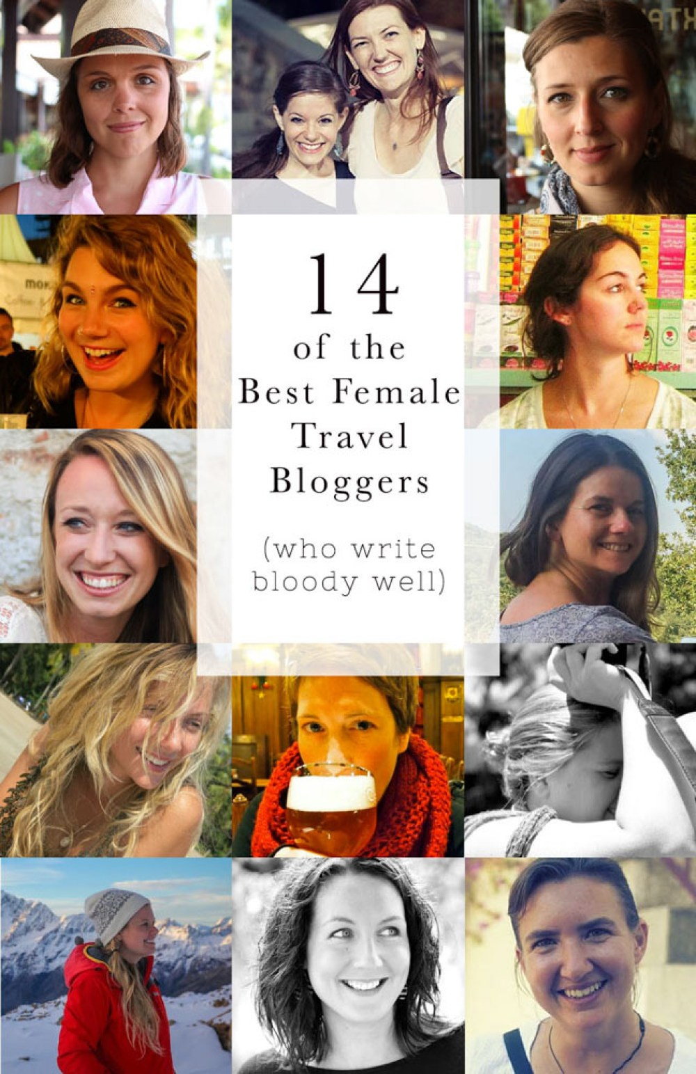 The Best Female Travel Bloggers (who write bloody well)