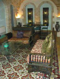 Mount Zion Hotel interior