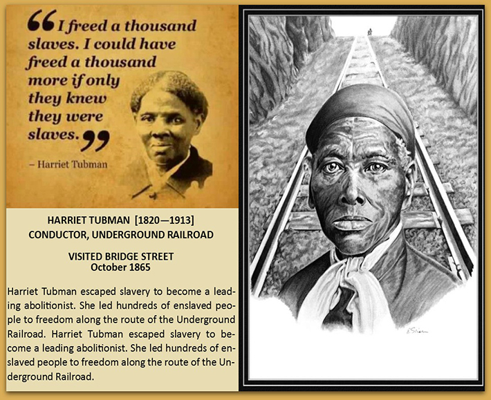 Harriet Tubman Visits Bridgestreet