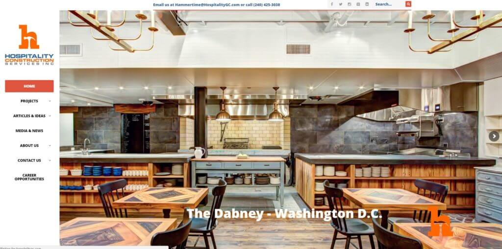 5 step integrated marketing process Hospitality Construction Services