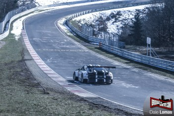 2016 Porsche GT3R testing on the Nürburgring Nordschleife