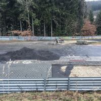 Nürburgring's most famous corner goes (almost) gravel-free
