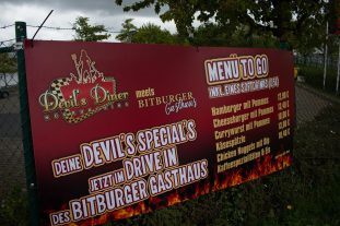 Devil's Diner has moved to the Bitburger lounge