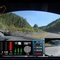 VIDEO: Onboard the 1200hp Lambo as the tyre blows at 205kmh!