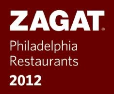 ZAGAT Survey – 2012 Philadelphia Restaurants RATED EXCELLENT