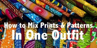 prints and patterns in one outfit