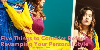 change your personal style