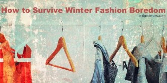 winter fashion boredom