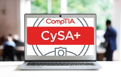 CompTIA Cybersecurity Analyst (CySA+) course thumbnail