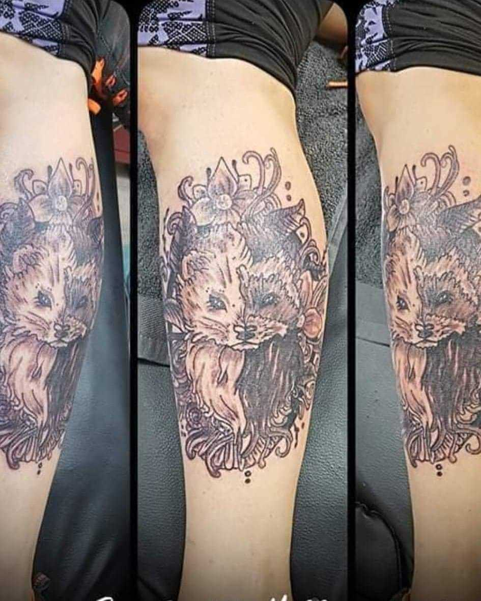 Bridgwater Mercury: INKED: Sonia Andrade's tattoo by The LoneWolf Tattoo Company