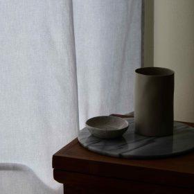 Minimalist decor, natural lighting, ceramics, minimal ceramics, minimalist asethetic, vase