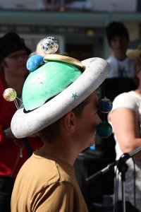 £50 Prize for Best Boy's Hat went to Llewelyn Davies