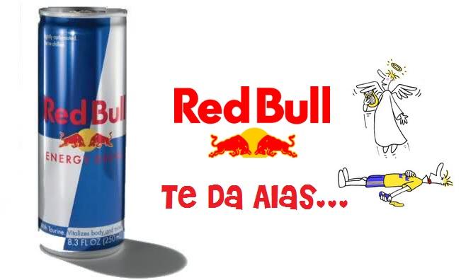Resultado de imagen de red bull te da alas