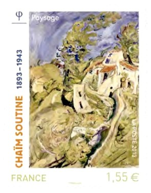 Chaim_Soutine_Briefmarke