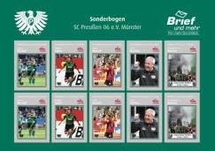 Fußball-Drittligist Preußen Münster hat jetzt eigene Briefmarken.