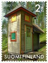 Plumpsklo_Briefmarke_Finnland_Turm