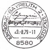 Stempel aus Bayreuth.