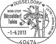 Zurückgezogen: Keine Non-stop-Linienverbindung von Düsseldorf nach Tokio am 1. Juni.