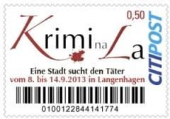 Neue Briefmarke der CITIPOST aus Hannover.