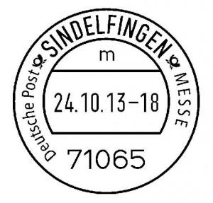 Nur in Sindelfingen gibt es einen Messe-Tagesstempel.