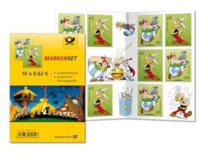 Mit ihrem Heftchen dürften Asterix und Obelix zufrieden sein.