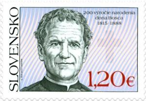 Don Bosco auf slowakischer Briefmarke