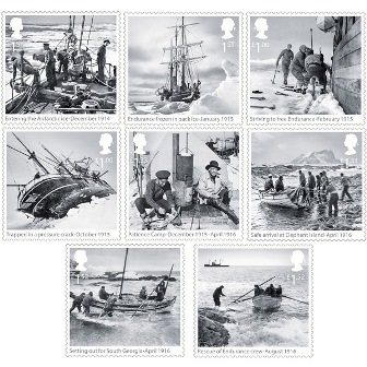 Briefmarken Royal Mail Expedition