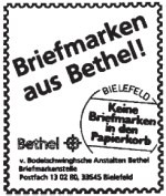 Bethel Briefmarkenstelle
