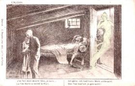 Ansichtskarten Spiegel Alkohol Wirtschaft Missbrauch Arbeiter Schnaps Branntwein 19. Jahrhundert (5)