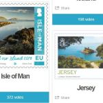 Sepac Wahl Briefmarke 2018 Comepetition Jersey Isle of Man