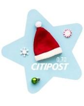 Briefmarke CITIPOST Hannover Weihnachten
