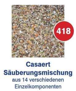 Vanrobaeys Caseart Saeuberungsmischung Nr.418 20kg